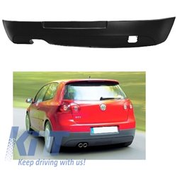 Rear Bumper Extension Volkwagen Golf V (2003-2007) GTI Look