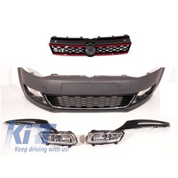 Front Bumper Volkswagen Polo 6R (2009-up) GTI Design