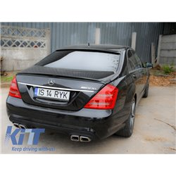 Rear Bumper Mercedes Benz W221 S-Class (05-11) AMG Design