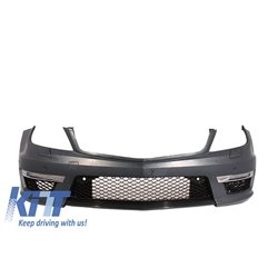 Front Bumper Mercedes C-Class W204 (2012-up) C63 Facelift AMG Design