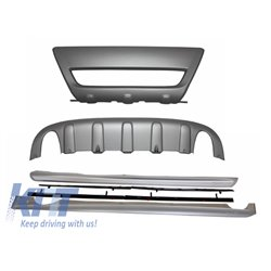 Volvo XC60 2008+ R-design Package Off-road Skid Plates & Side skirts R-design