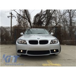 Front Bumper BMW E90 E91 Touring LCI Facelift (08-11) M3 Design with PDC