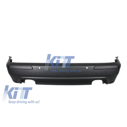 Rear Bumper BMW 5 Series  E39 (1995-2003) Double Outlet M5 Design with PDC