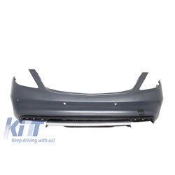 Rear Bumper Mercedes Benz W222 S-Class (2013-up) S65 AMG Design