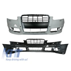 Front Bumper Audi A6 facelift  04-10 4F / 4F2