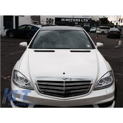 Front Bumper Mercedes Benz W221 S-Class (2005-2012) S63 S65 AMG Look