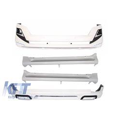 Complete Body Kit Toyota Land Cruiser Prado FJ150 (2014-up) Modellista Design