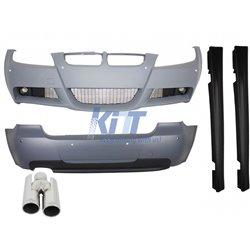 Body Kit BMW 3 Series E90 (2005-2008) M-Technik Design With Exhaust Muffler Tips ACS-design