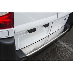 Nakładka z zagięciem na zderzak (stal szczotkowana) Fiat Scudo