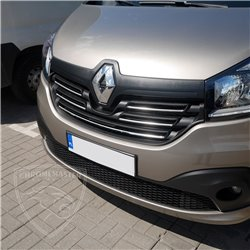 Listwy atrapy przedniej Renault Trafic III 2014+