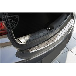 Nakładka z zagięciem na zderzak (stal szczotkowana) Opel ASTRA V 5 K Hatchback