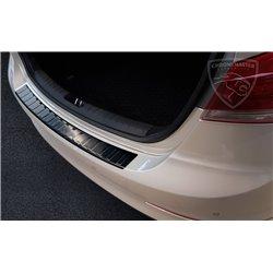 Nakładka profilowana z zagięciem na zderzak grafitowa Hyundai Elantra 2016+
