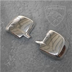Chrome Mirror Covers Peugeot Bipper