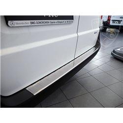 Nakładka z zagięciem na zderzak (stal szczotkowana) Mercedes V-Klasse W447