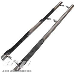 Orurowanie ze stopniami BB005 - Mercedes V-Klasse W447 Extra Long 3 stopnie