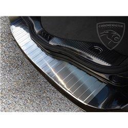 Nakładka z zagięciem na zderzak (stal szczotkowana) Ford MONDEO MK4 Kombi