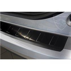 Nakładka z zagięciem na zderzak grafitowa Honda Civic IX FL Hatchback 2015+