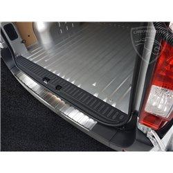 Nakładka z zagięciem na zderzak (stal szczotkowana) Opel MOKKA X