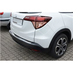 Nakładka z zagięciem na zderzak (stal szczotkowana) Honda HR-V 2015+