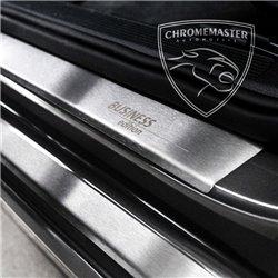Nakładki progowe Matt + grawer Opel Corsa D