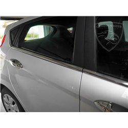 Listwy pod szyby boczne Ford Fiesta VII