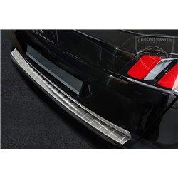 Nakładka z zagięciem na zderzak (stal szczotkowana) Peugeot 3008 2016+