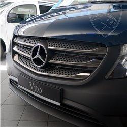 Listwy atrapy przedniej Mercedes Vito W447 BLACK