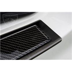 Listwa tylnego zderzaka grafit stal+karbon Mercedes GLA