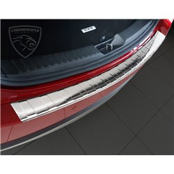Nakładka z zagięciem na zderzak (stal polerowana) Mazda CX-5
