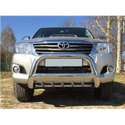 Orurowanie przednie kły z homologacją 90 mm Toyota Hilux 2005-2015