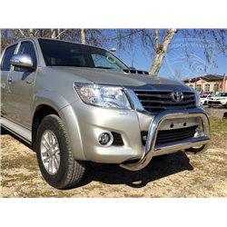 Orurowanie przednie z homologacją 90 mm Toyota Hilux 2005-2015