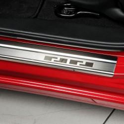 Nakładki progowe (stal) Chevrolet Aveo I FL