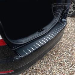 Nakładka z zagięciem na zderzak (stal + folia karbonowa) Ford Mondeo IV