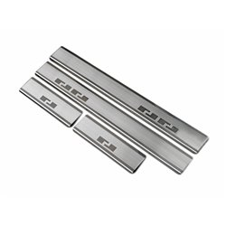 Nakładki progowe (stal) Citroen C1