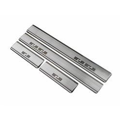 Nakładki progowe (stal) Citroen C1 II