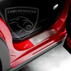Nakładki progowe Matt + grawer Alfa Romeo 156