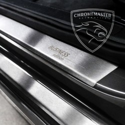 Nakładki progowe Matt + grawer Audi A1