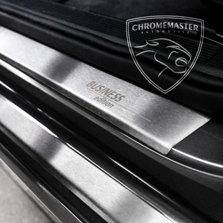 Nakładki progowe Matt + grawer Chevrolet Spark II